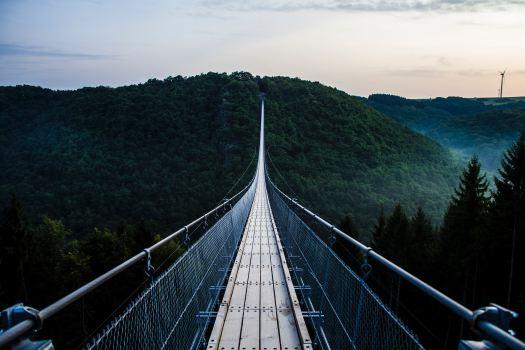 ponte sospeso coraggio paura