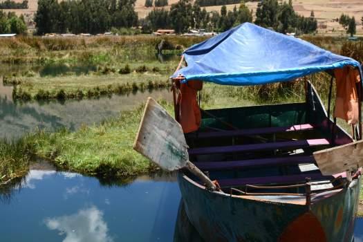 Una barca nel centro del Peru - Huancayo