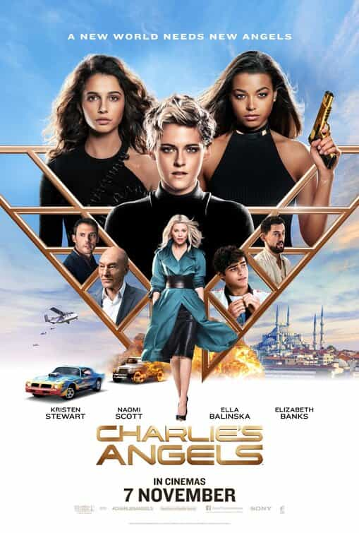 Image result for charlie's angels 2019 poster