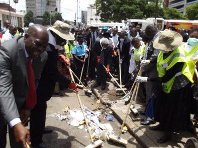 Harare CBD Clean-up