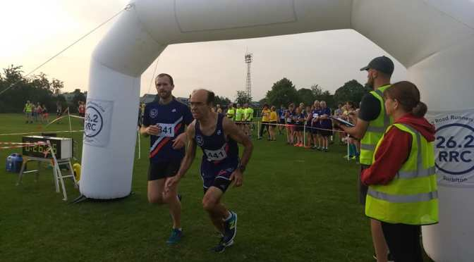 Imber Court Relay results