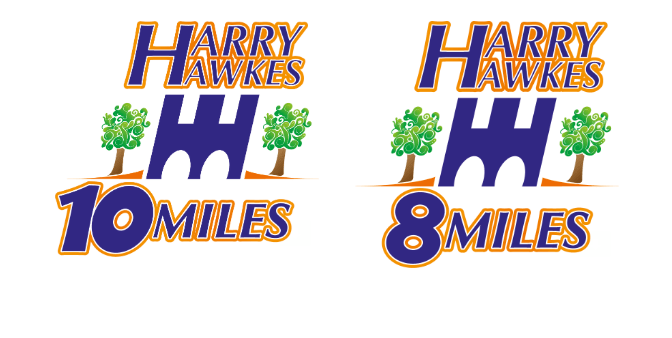 Harry Hawkes 10 & 8 mile races – 10% discount
