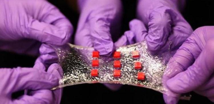 ضمادات طبية ذكية تزود الجسم بالأدوية اللازمة