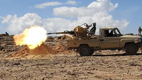 مصرع 13 حوثيا بنيران الجيش في صرواح بمأرب