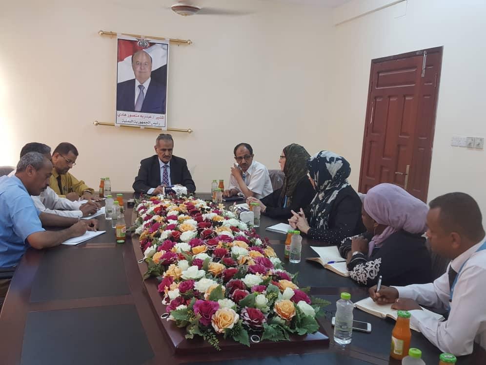 وزير التربية والتعليم يلتقي بالمستشارة الإقليمية للتعليم في اليونسيف