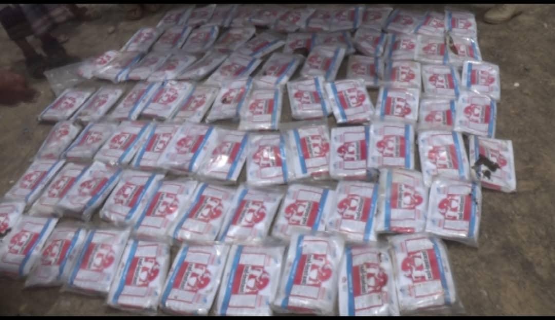 مأرب.. قوات الجيش تضبط كميات من الحشيش المخدر كانت في طريقها إلى مليشيا الحوثي