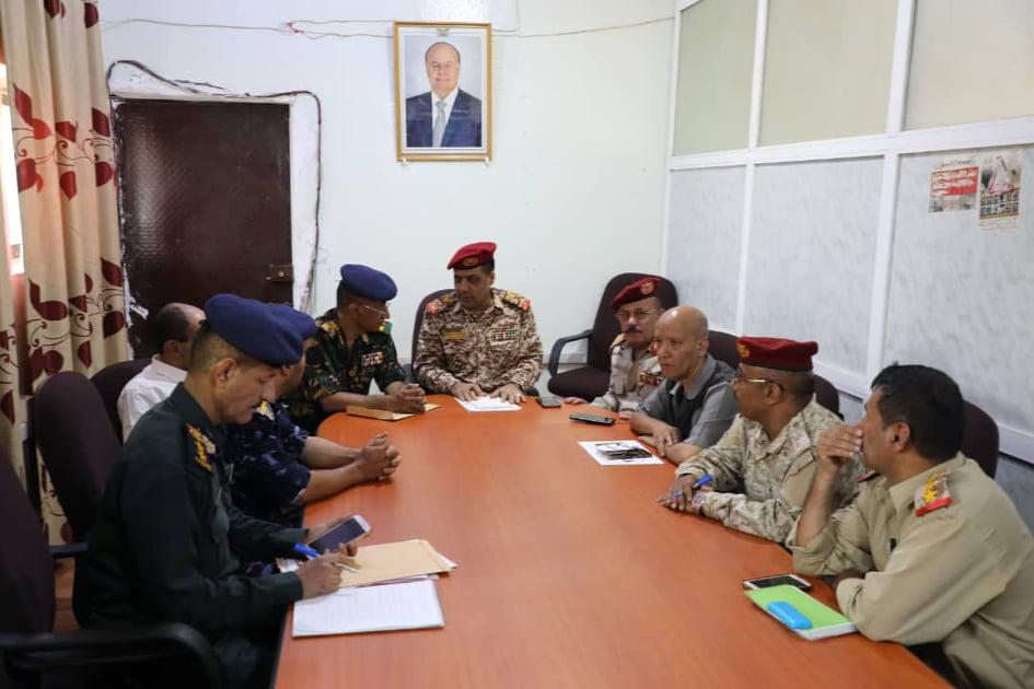 أمنية تعز تناقش التطورات الأمنية وتوجه بضبط عناصر السطو على الأراضي العامة والخاصة