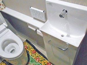 H様邸施工後:トイレ手洗い器