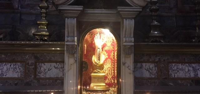 Церковь Кораблекрушения и правое запястье апостола Павла