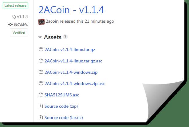2ACoin v1.1.4