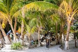 Unser Campspot in der Karibik