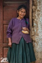 Gerade die Frauen hier in Peru sind sehr aufgeschlossen und immer für ein Gespräch bereit.