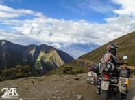 kurze pause hoch oben in den Anden