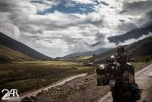Das Wetter in den Anden kann innerhalb weniger Minuten umschwenken.