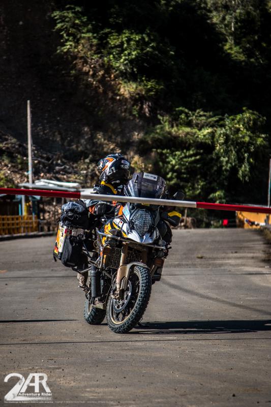 Grenze zu Peru