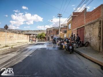 Waschstrasse in Bolivien