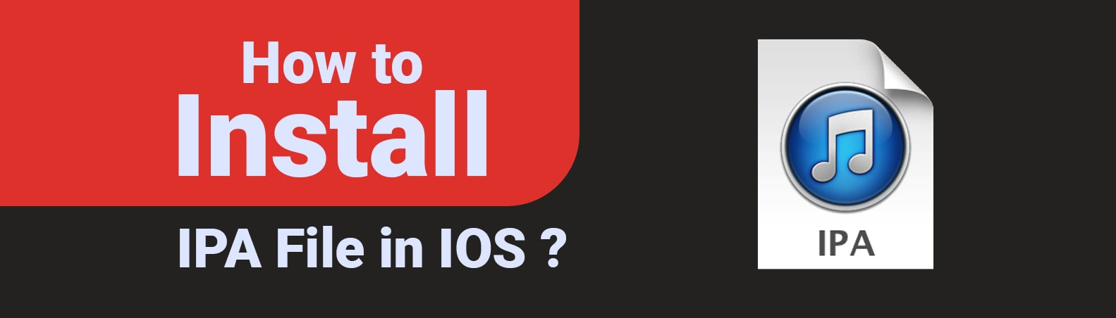 How to Install IPA File in IOS-min