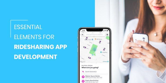 Essential Elements For Ride Sharing App Development