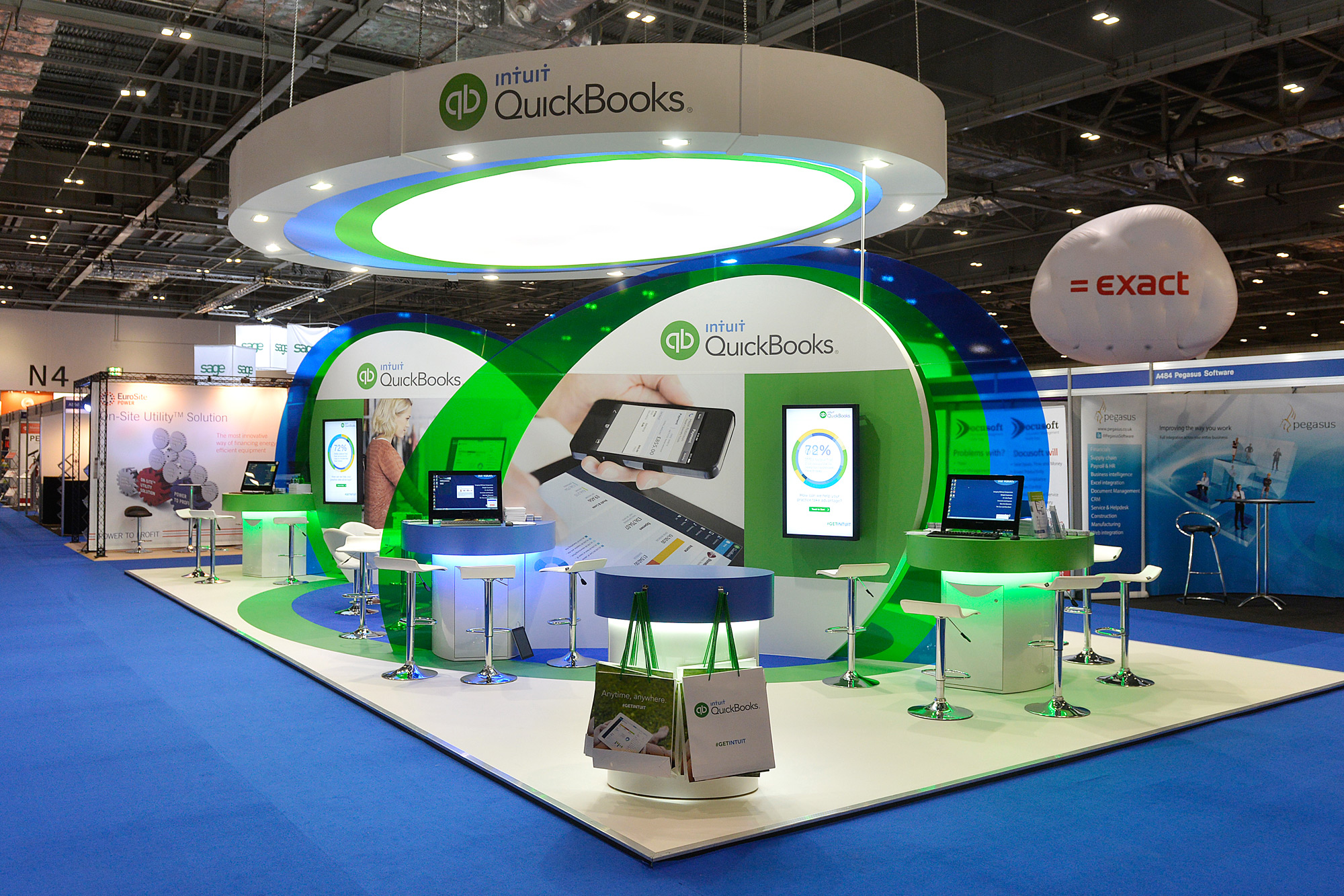 Exhibition Design for Intuit at Accountex