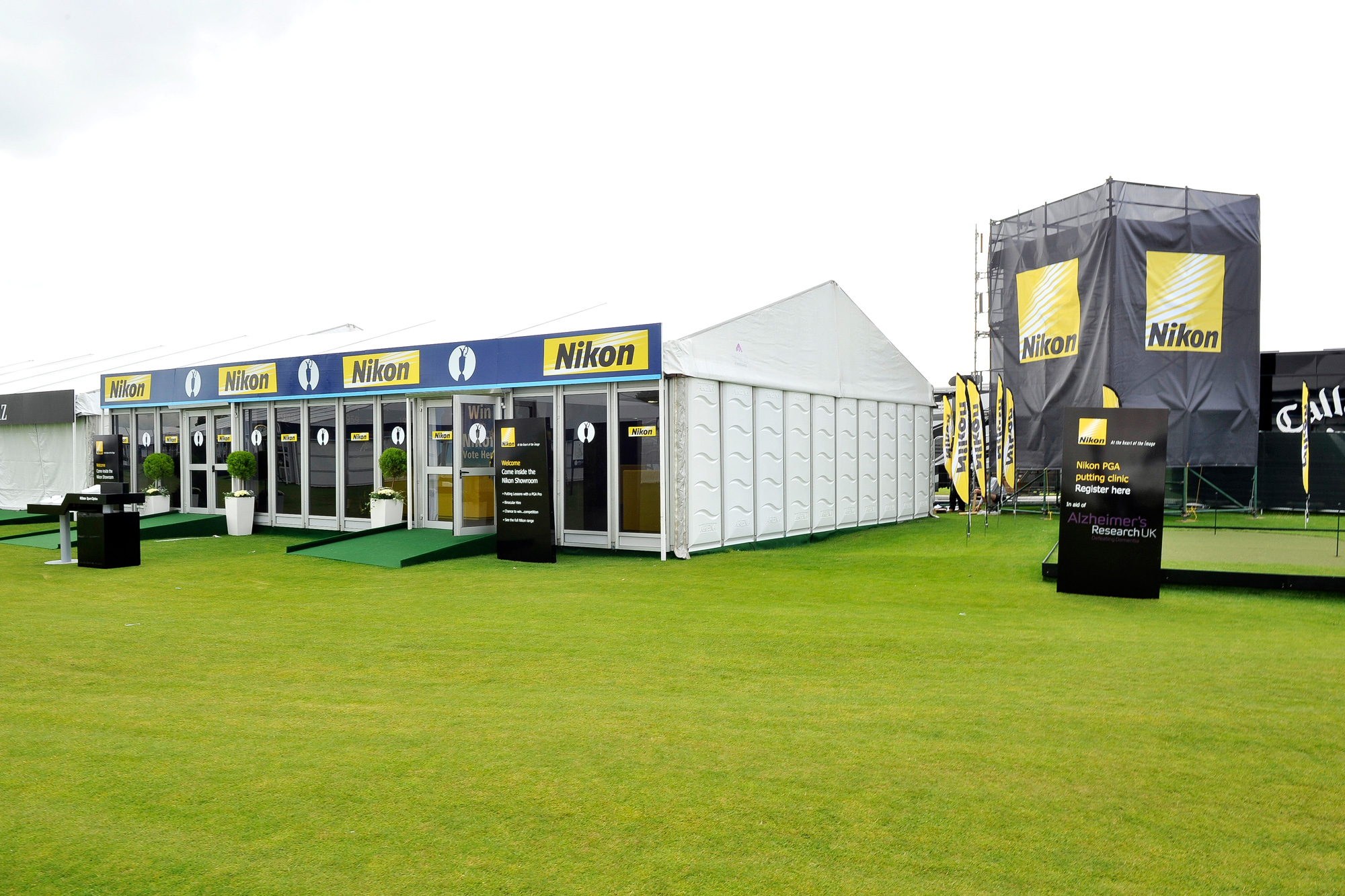 Event design for Nikon at The Open Golf Championships