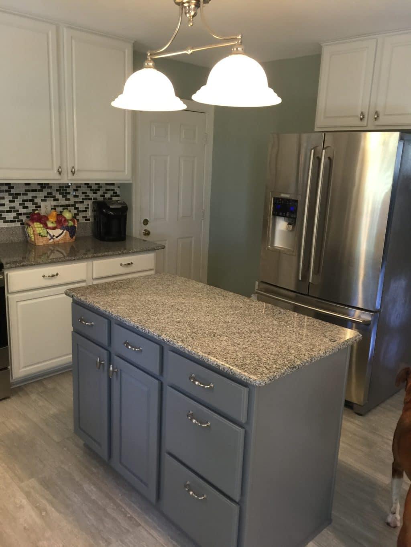 Nebulous White Amp Cityscape Kitchen 2 Cabinet Girls