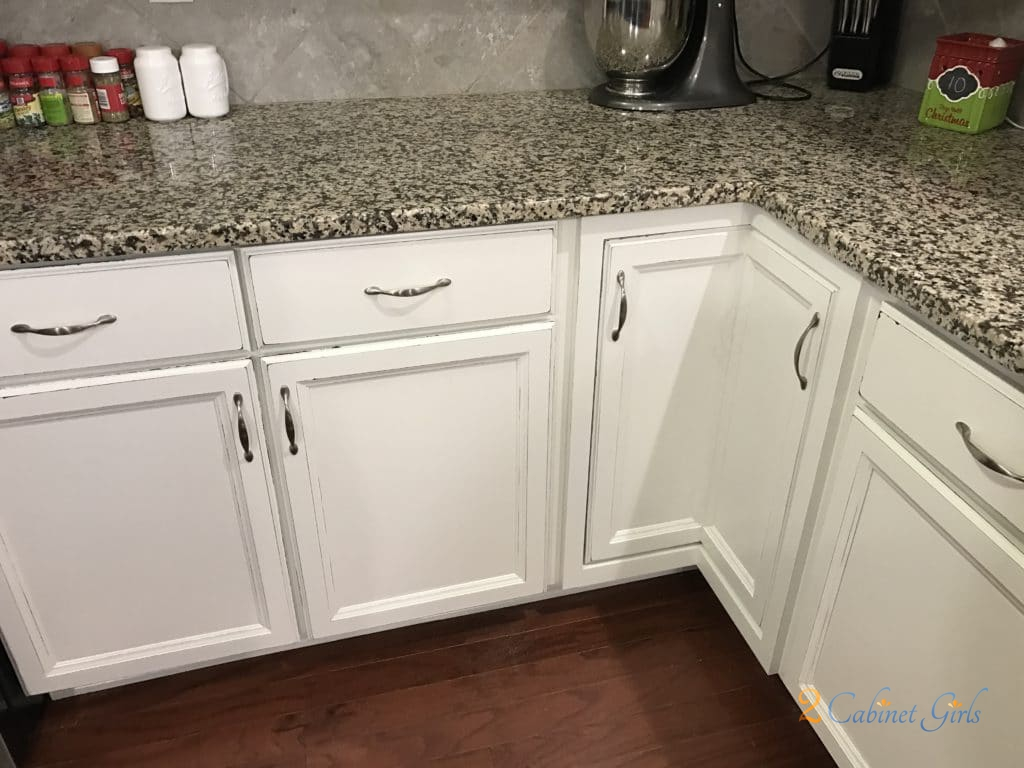 Sherwin Williams Alabaster With Distressed Edges 2