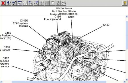 2005 ford freestar engine diagram  wiring diagram diode