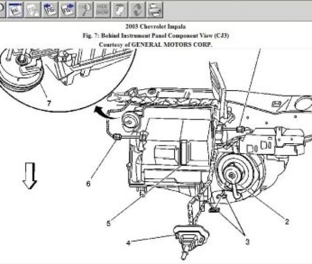 2003 Chevy Impala Schematic Of Blower Motor Resistor Locati Blower Motor Drawing Blower Motor Diagram 2003
