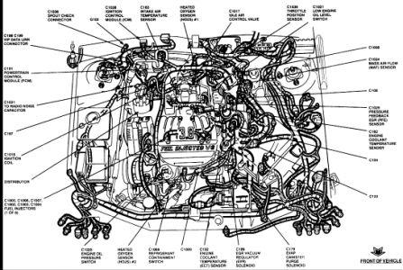 95 ford taurus engine diagram  description wiring diagrams