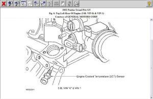1998 Ford Contour Temperature Sensor: Engine Cooling