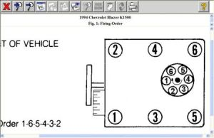 1994 Chevy Blazer Wiring Diagram for Distributor Cap