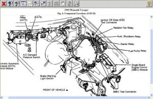 1992 Plymouth Voyager Fuel Pump Wiring Diagrams: There Is No