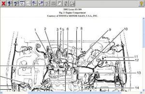 2001 Lexus ES 300 How to Find and Clean Iac Valve