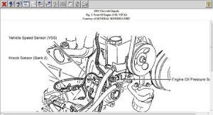 2001 Chevy Impala Knock Sensor Location: Engine Mechanical Problem