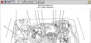 2000 Nissan Pathfinder Knock Sensor: Where or How Do I Locate the