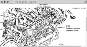 1993 Ford ranger pcv valve location