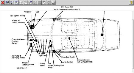 T3223755 Location cruise control fuse in 1995 moreover 1991 Jaguar Xj6 Engine Diagram in addition 2014 Jeep Wrangler Engine Coolant Diagram together with Jeep 3 8l V6 Engine as well Oil Pressure Switch Test Gauge. on fuse box location jeep xj