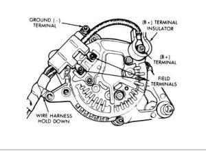1993 Dodge Ram Voltage Regulator: Battery Won't Charge Just