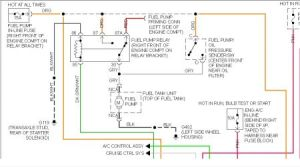 1994 Buick Century Fuel Pump System Diagram: Electrical
