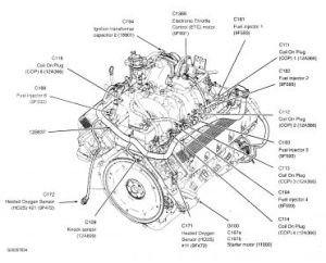 2004 Ford F150 Location of the Temperature Sender
