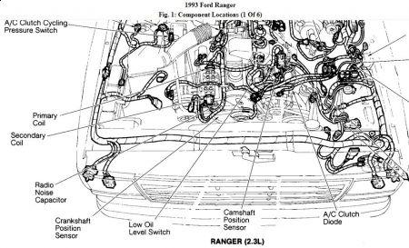 2003 ford ranger 2 3l engine diagram  1967 chevy el camino