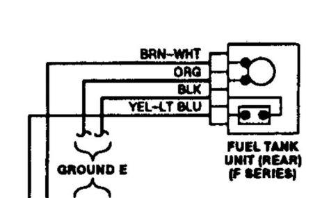 1989 ford f 150 sending unit wiring  wiring diagram solid