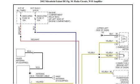radio wiring diagram for 2001 mitsubishi galant the wiring ve stereo wiring diagram diagrams