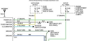 Stereo Wiring: Six Cylinder Two Wheel Drive Automatic My