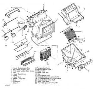 1992 Buick Skylark Heater Core: Heater Problem 1992 Buick