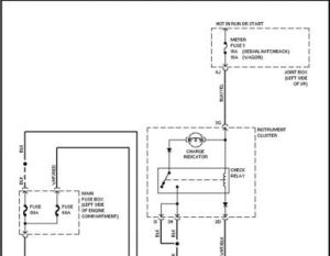 1988 Mazda 323 Alternator Wiring: Electrical Problem 1988