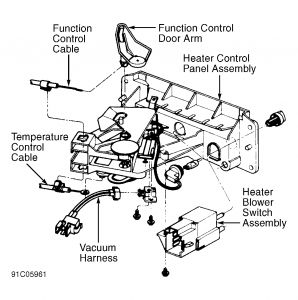 1991 Ford Explorer Heater Control Valve: Heater Problem