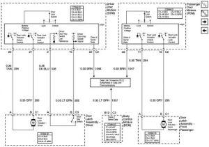 2004 GMC Sierra Power Door Lock: Electrical Problem 2004
