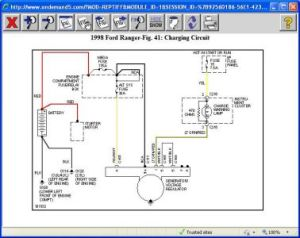 1998 Ford Ranger Charging System: Electrical Problem 1998