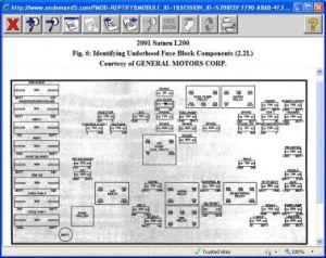 2001 Saturn L200 Turn Signals: 2001 Saturn L200 4 Cyl